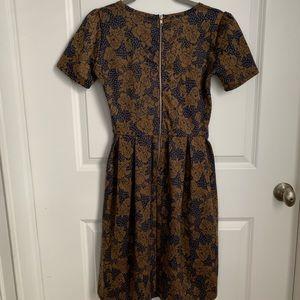 LuLaRoe Dresses - LulaRoe Floral Print Amelia Dress Size SM